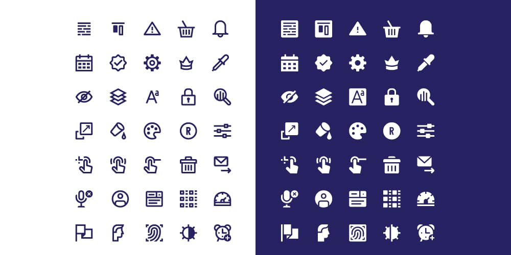 Free Interface Icons