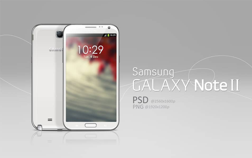 Galaxy Note II PSD