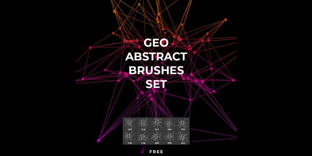 Geo Abstract Brushes