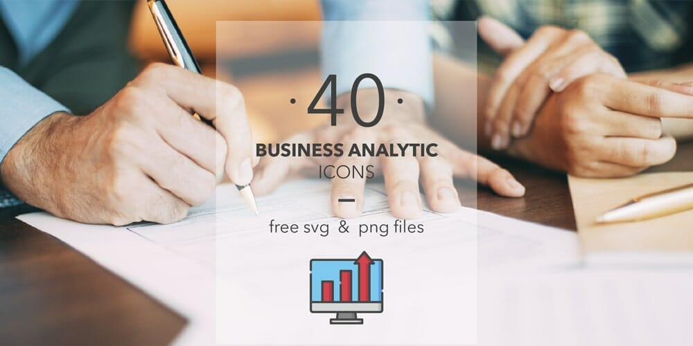 High Quality Business Analytic Icons