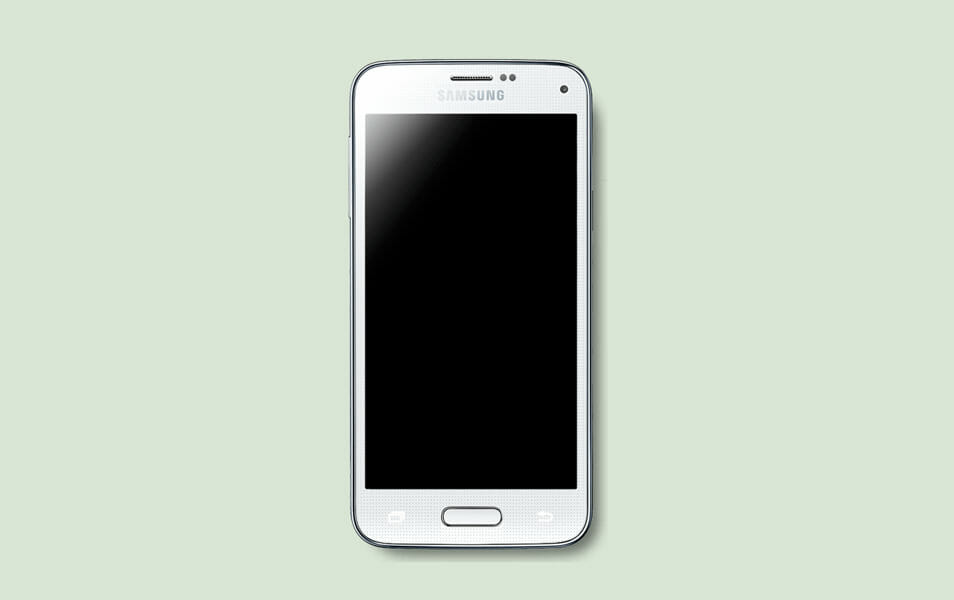 Samsung Galaxy S5 mini psd