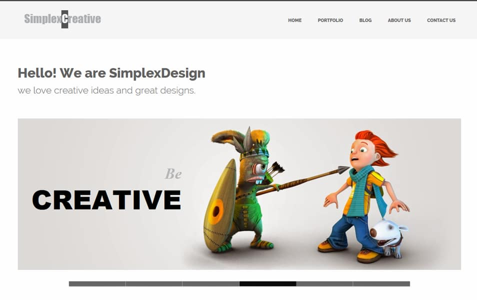 200 best free responsive blogger templates simplexcreative responsive business blogger template wajeb Choice Image