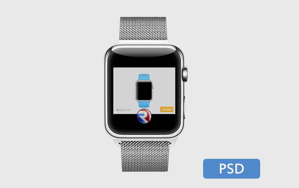 Apple Watch PSD
