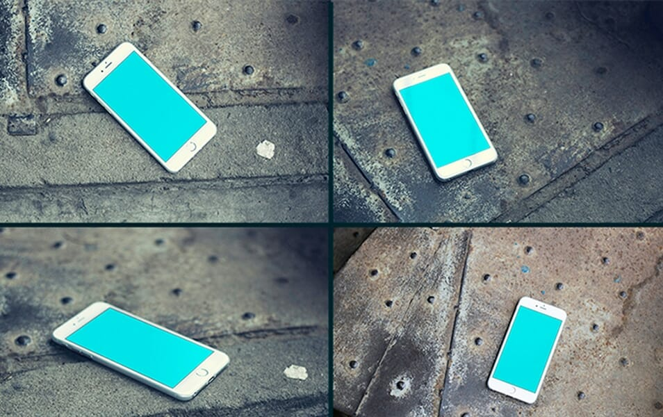 The Fox iPhone 6 Mockups
