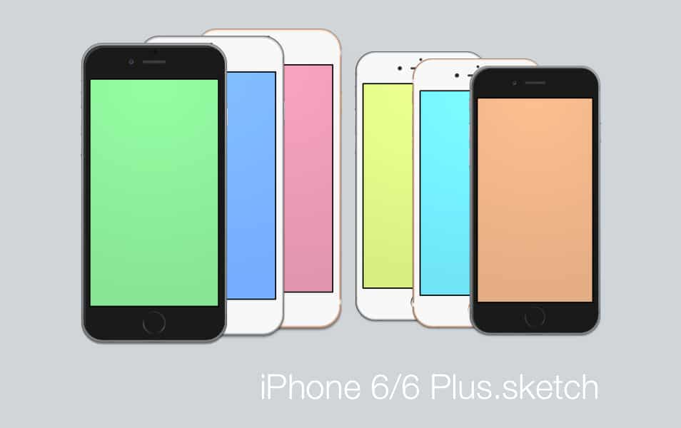 iPhone 6 & 6 Plus Sketch