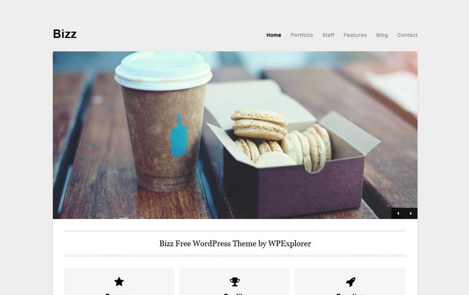 150 best free wordpress portfolio themes 2018 css author bizz free portfolio wordpress theme maxwellsz