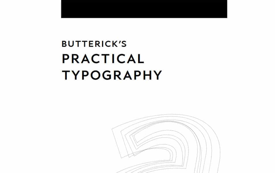 Butterick's Practical Typography