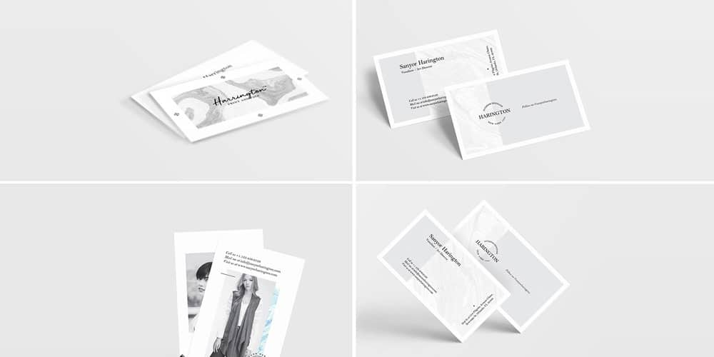 100 free business card mockup psd css author free business card mockup bundle psd reheart Gallery