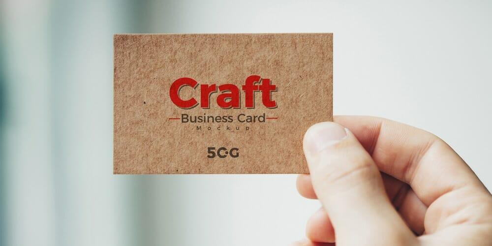 100 free business card mockup psd css author free man holding craft business card mockup psd reheart Choice Image