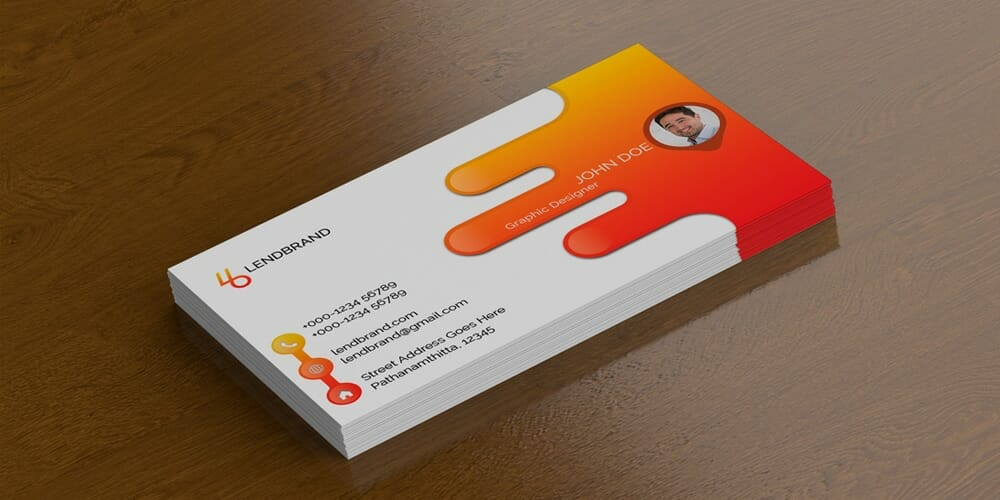 100 free business card mockup psd css author free single business card mockup psd reheart Image collections