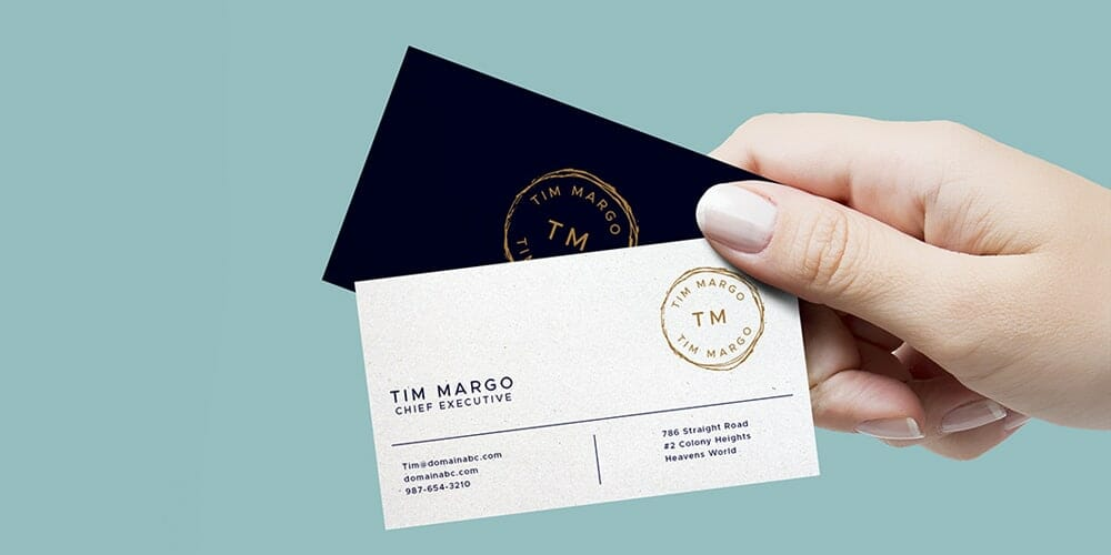 100 free business card mockup psd css author hand holding business cards mockup psd reheart Image collections