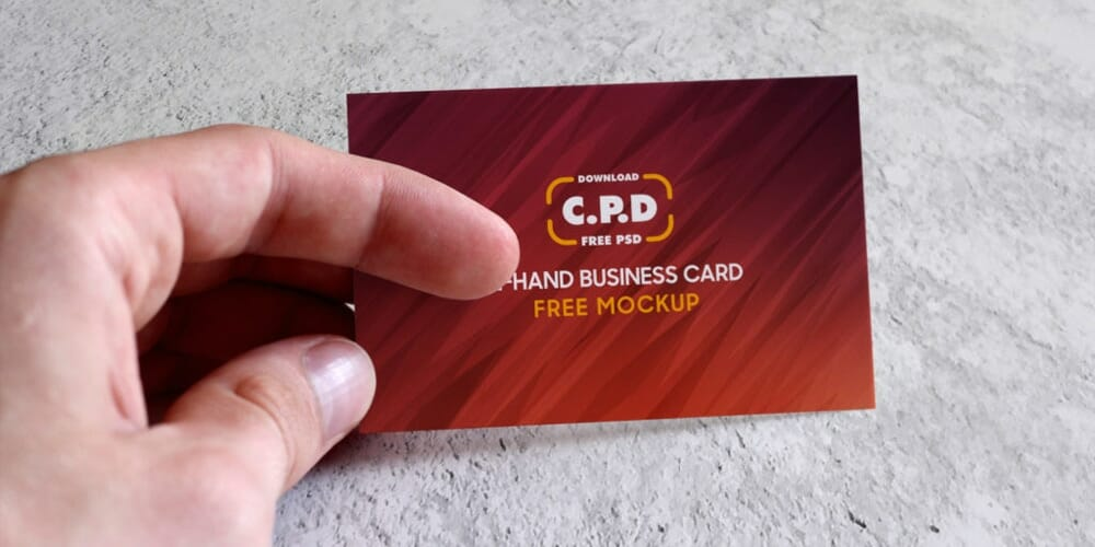100 free business card mockup psd css author in hand business card mockup psd flashek Image collections