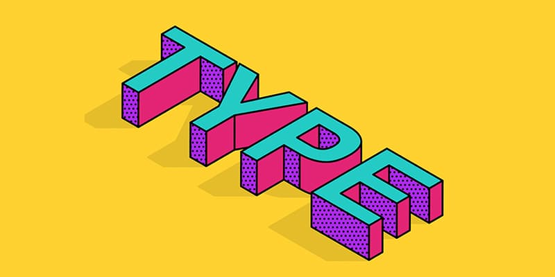Isometric-Type-Effect