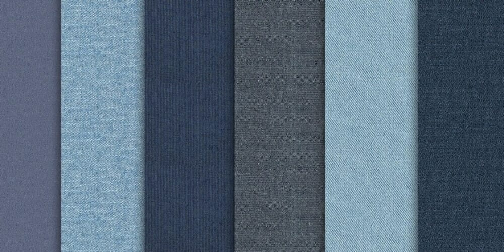 Denim Jeans Seamless Fabric Textures