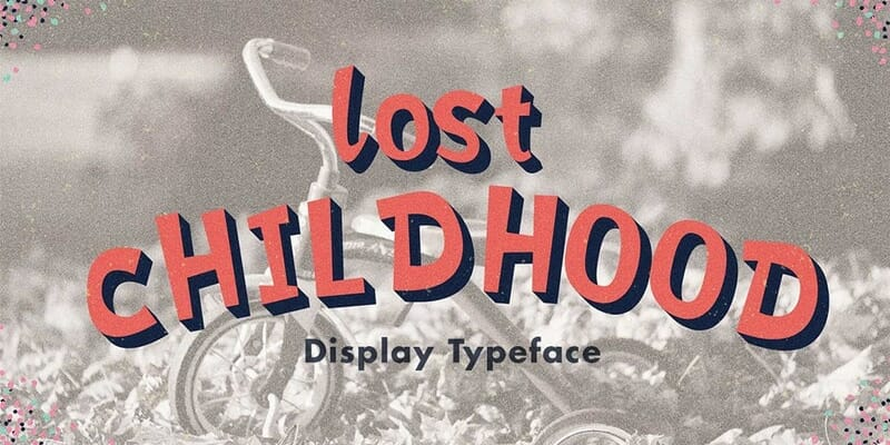 Lost Childhood Font