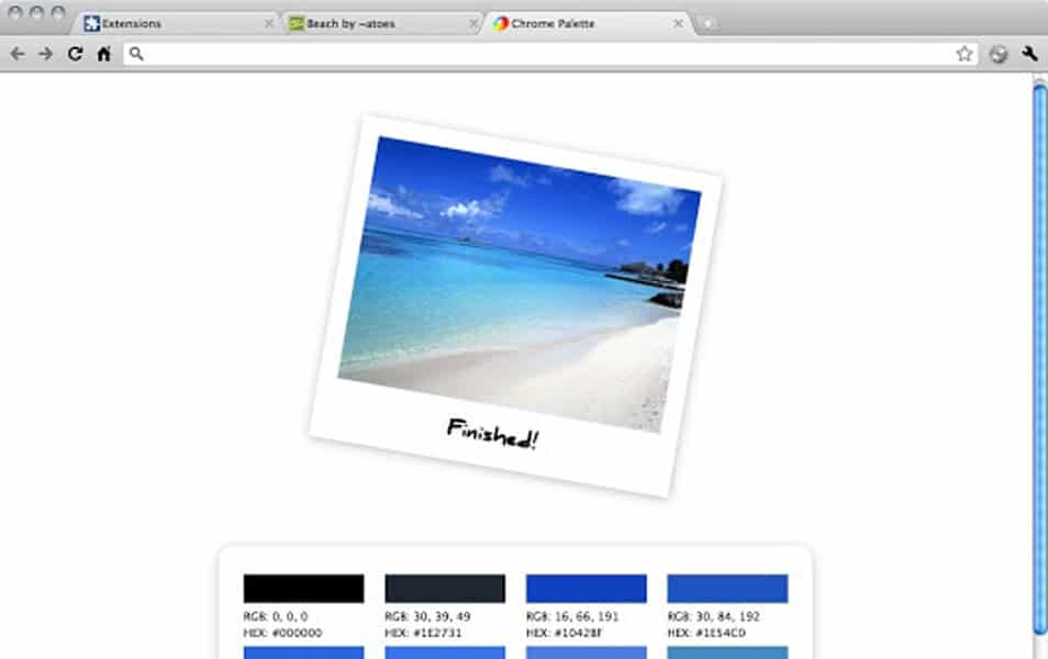 Palette for Google Chrome