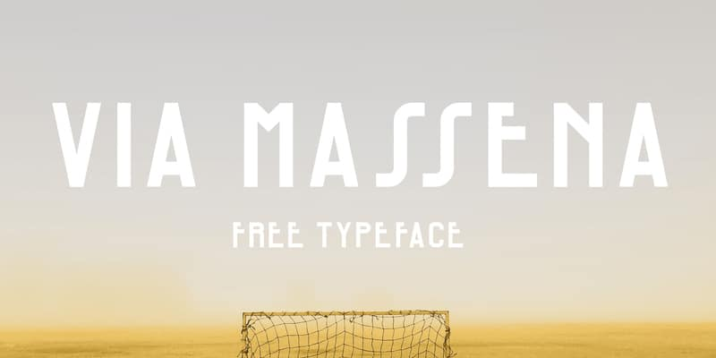 Via Massena Typeface