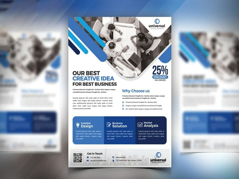 Best free flyer templates psd css author corporate business flyer template psd friedricerecipe Gallery