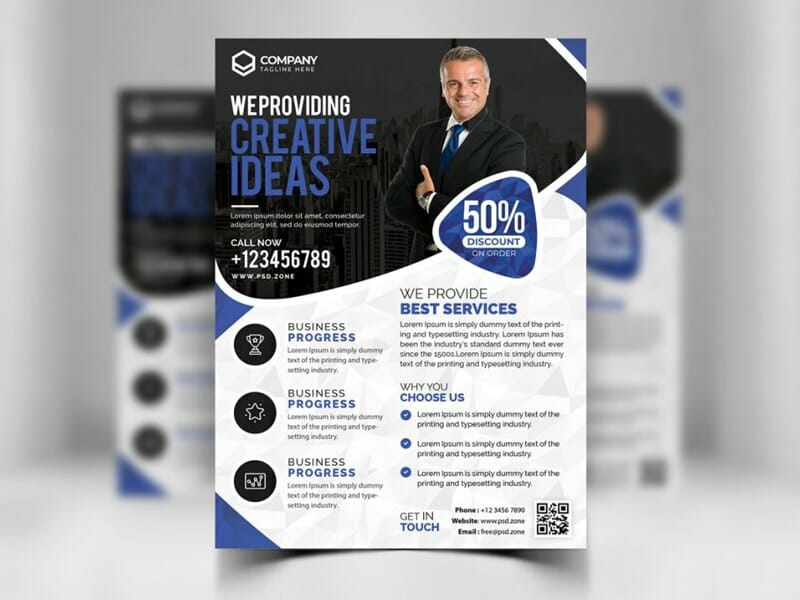 Best free flyer templates psd css author free corporate business flyer design psd wajeb Gallery