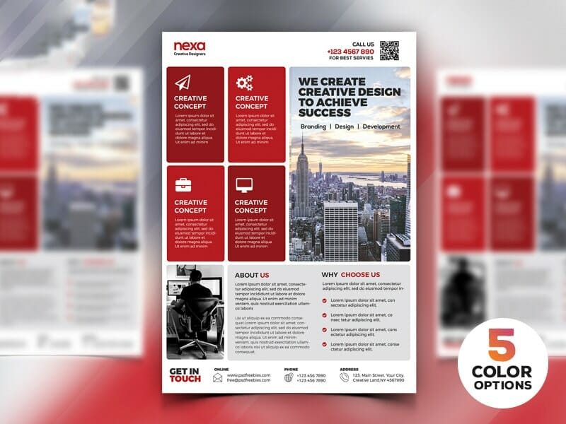 Best free flyer templates psd css author corporate modern flyer template psd flashek Images