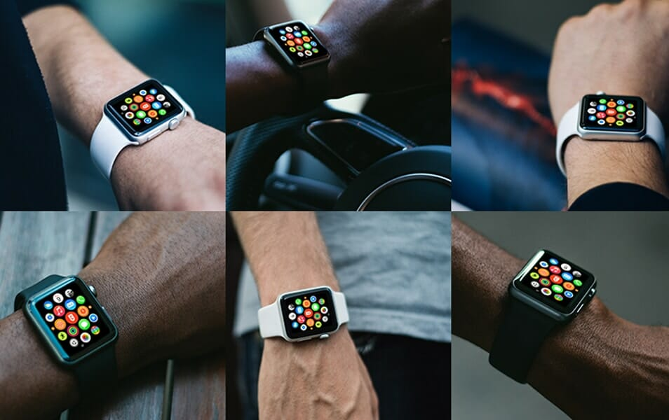 16 Free Photorealistic Apple Watch mockups