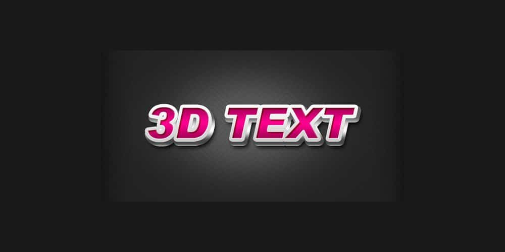 3D-text-effect-in-Photoshop