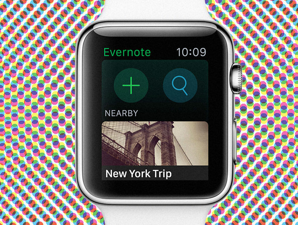 5 Lessons On Apple Watch Design From Evernote