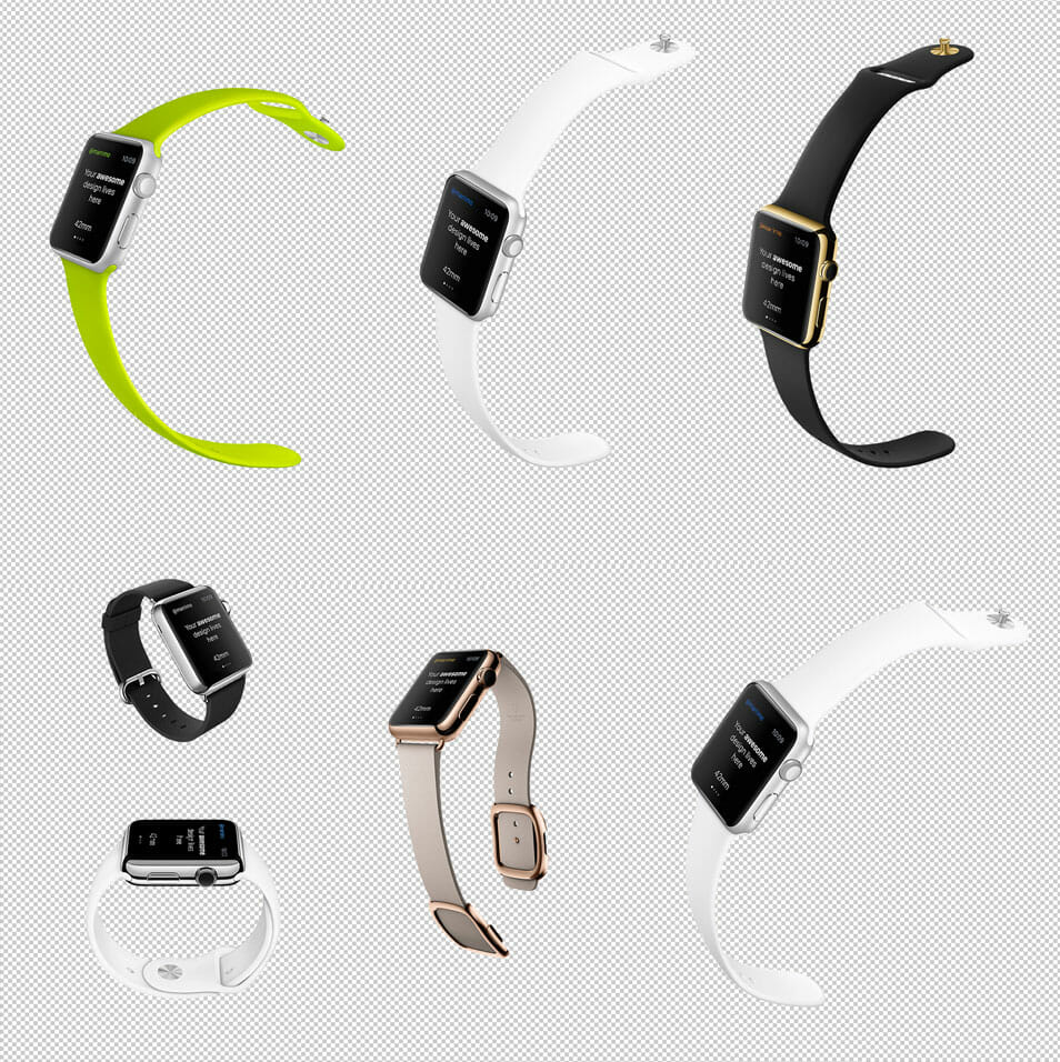 Apple Watch Free Templates