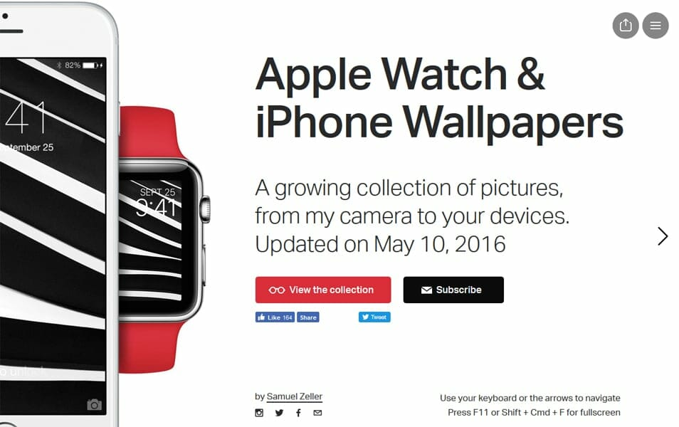 Apple Watch & iPhone Wallpapers