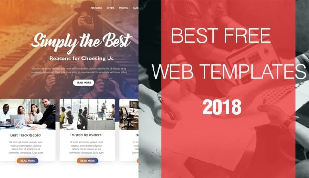 Free Web Templates From CSS Author - Free webtemplates