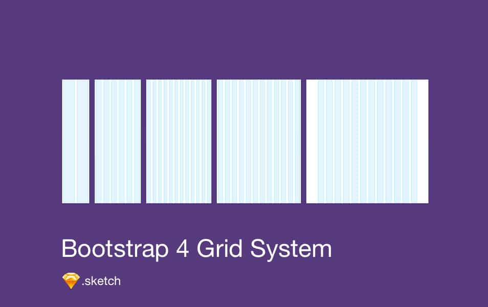 Bootstrap 4 Grid (Sketch)