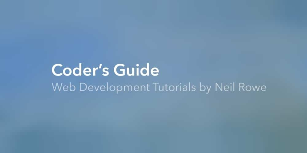 Coder's Guide