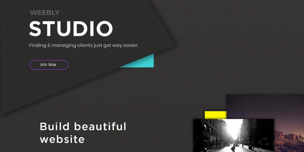Creative Studio Web Template PSD