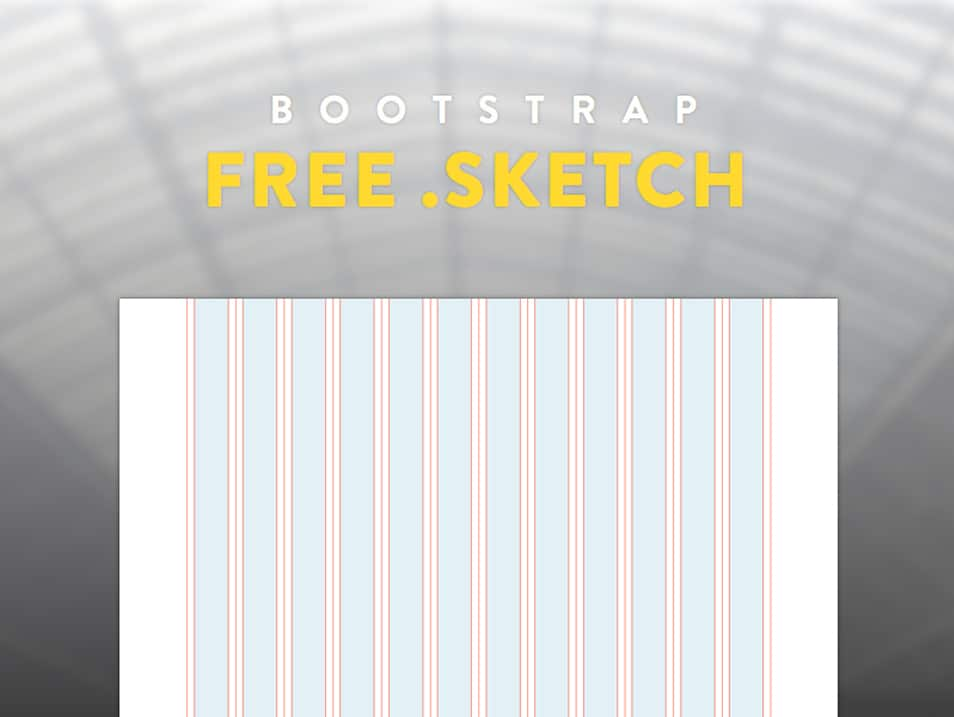 FREE Bootstrap .SKETCH