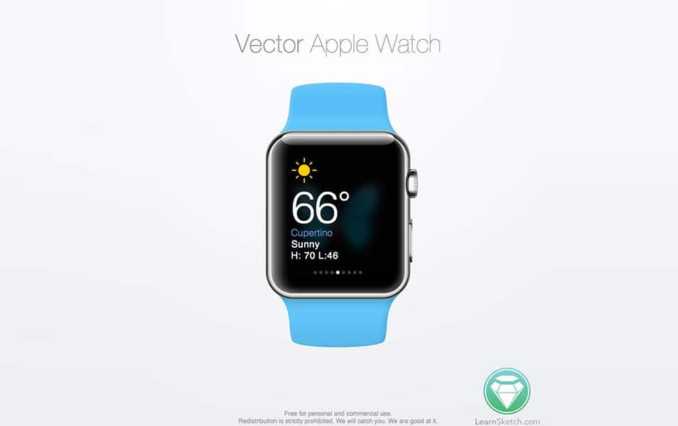 Sketch Apple Watch