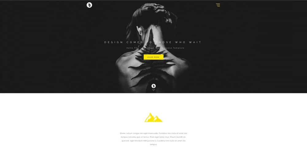 Sparkle Multipurpose Web Template PSD
