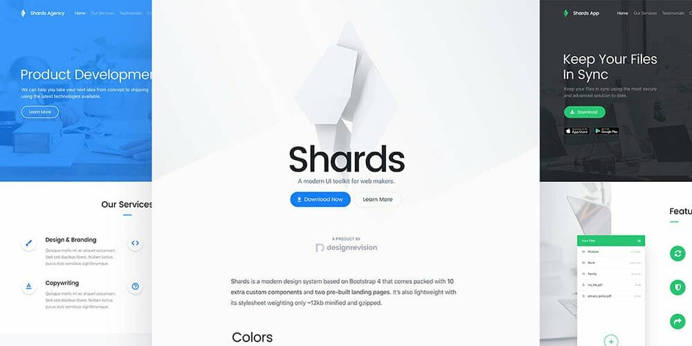 Shards Bootstrap 4 UI Toolkit