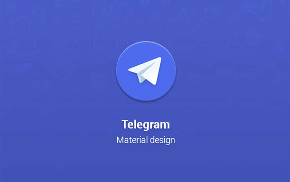 Telegram Material design for Android