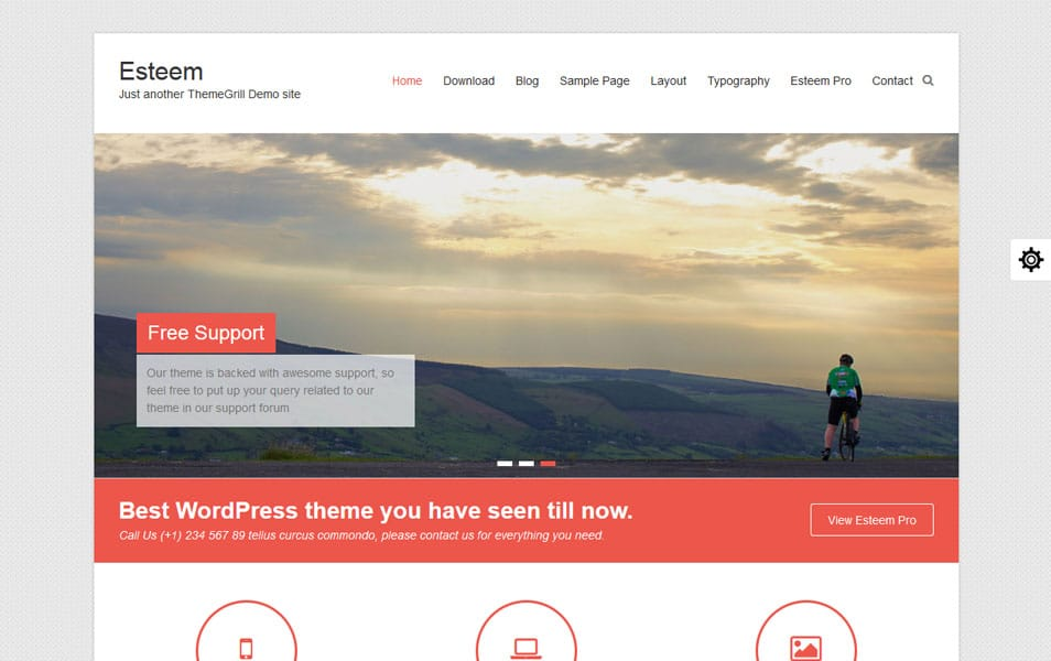 Esteem Business WordPress Theme