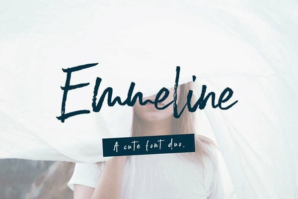Emmeline Handwritten Brush Font