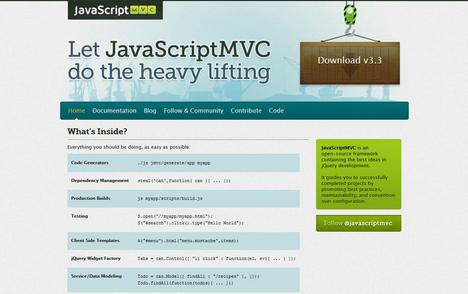 JavaScriptMVC