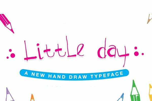 Little Day Handwritten Font