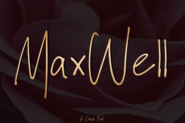 Max Well Font