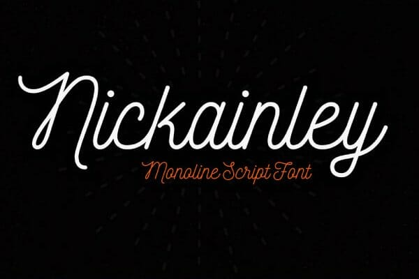 Nickainley Handwriting Font