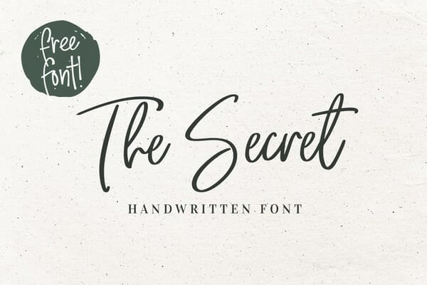 The Secret Font