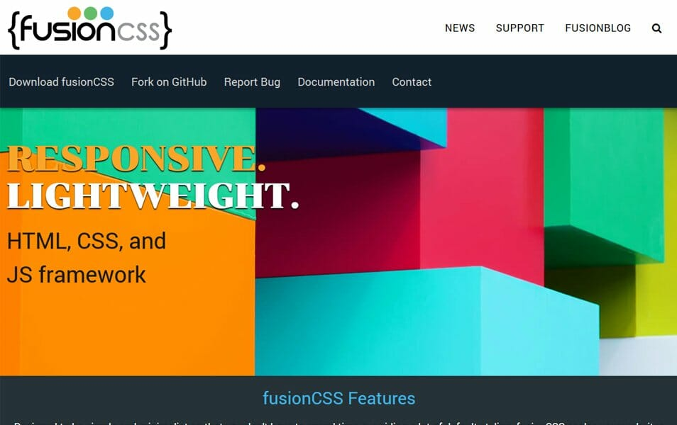 100 best css frameworks for responsive design free simple responsive css framework built in less and easy to customize malvernweather Images