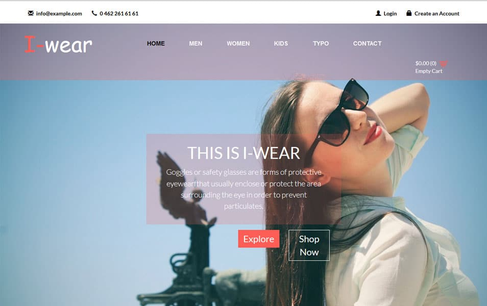 Free Responsive HTML Ecommerce Website Templates - Web template torrent
