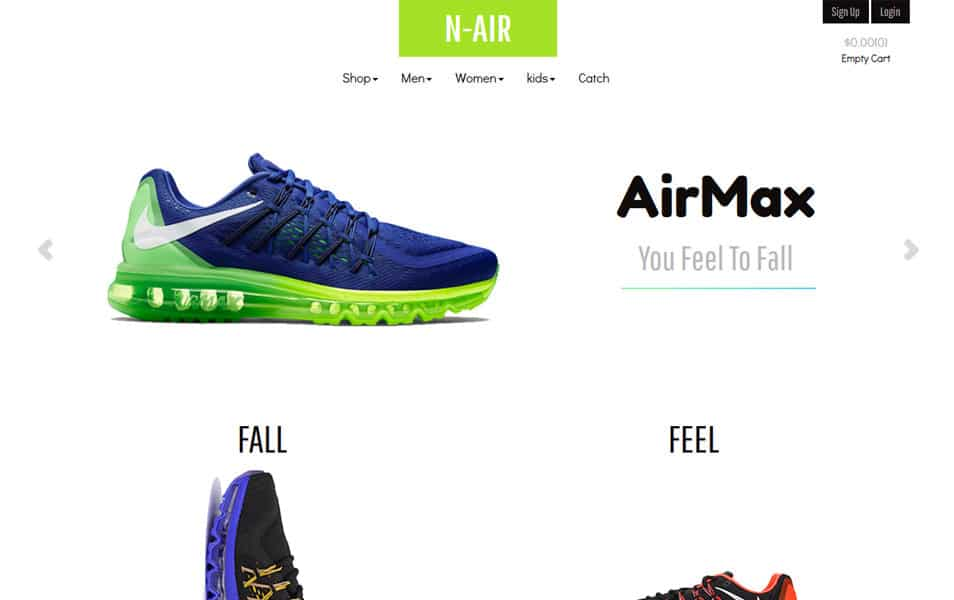 50 free responsive html5 e commerce website templates n air bootstrap ecommerce template maxwellsz
