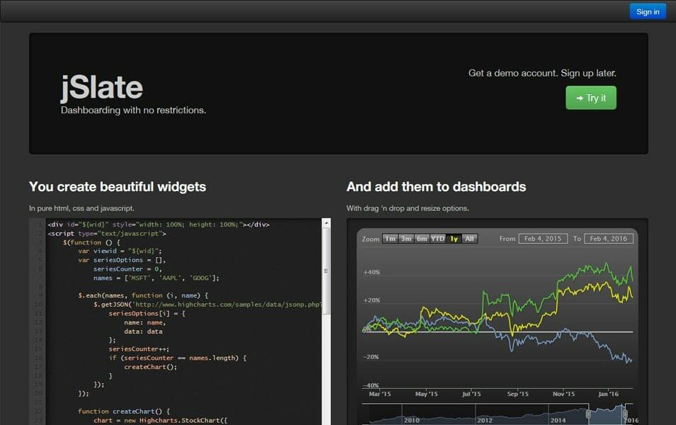 20+ Best Dashboard Frameworks » CSS Author