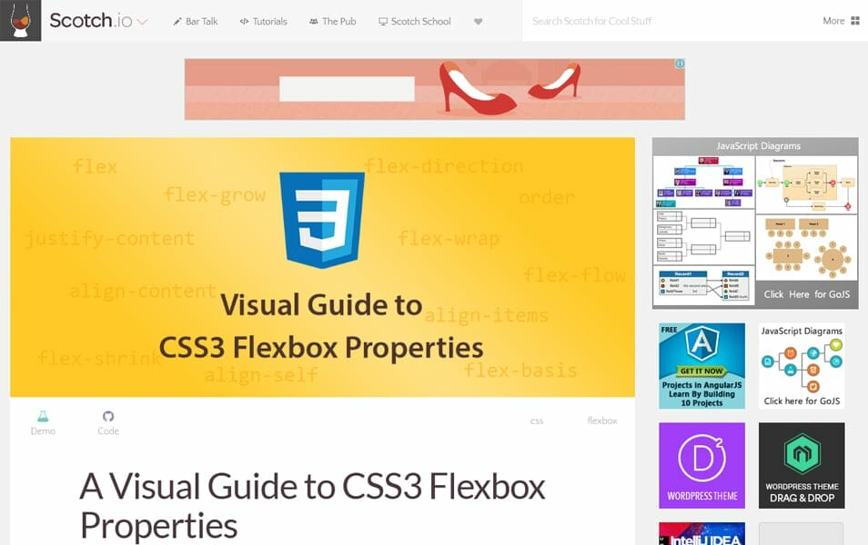 A Visual Guide to CSS3 Flexbox Properties
